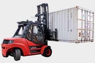 Container verhuizingen/ verhuizing met een steel container.